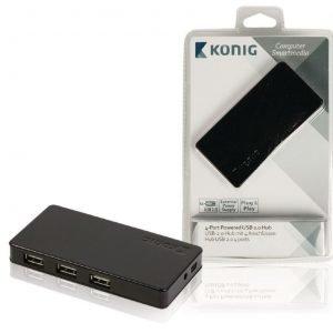 4-porttinen USB 2.0 -jakaja
