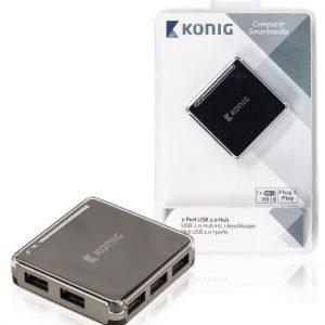 7-porttinen USB 2.0 -jakaja