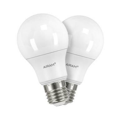 AIRAM Airam LED normaalilamppu E27 6W 2-pakkaus