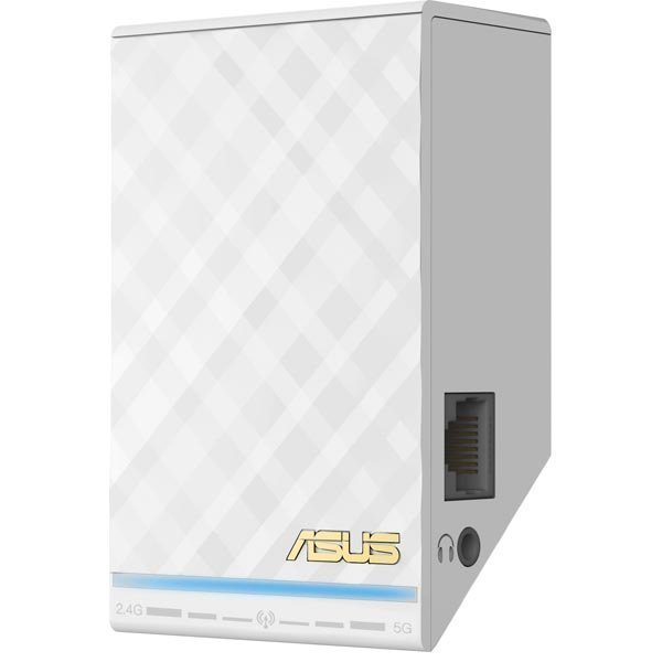 ASUS Dual band Wireless AC750 LAN wall-plug Range Extender