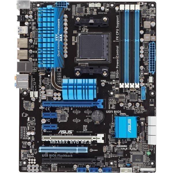 ASUS Emolevy M5A99X EVO R2.0 (ATX AMD 990X AM3+)