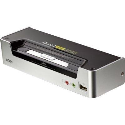 ATEN CubiQ KVM-kytkin 1 > 2 HDMI/USB USB-hubi ääni 1080p