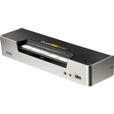 ATEN CubiQ KVM-kytkin 1 > 4 HDMI/USB USB-hubi ääni 1080p