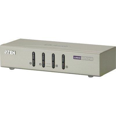 ATEN KVM-kytkin 1 >4 HDMI/USB VGA/USB/ääni hopea