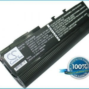 Acer Aspire 5550 TravelMate 6252 akku 6600 mAh