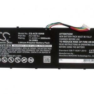 Acer Aspire E11 Aspire E3 Aspire E3-111 akku 3000 mAh