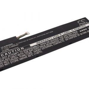 Acer Aspire M3 ja Aspire M5 akku 4850mAh / 53.84Wh mAh - Musta