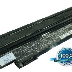 Acer Aspire One 532H yhteensopiva akku 6600 mAh