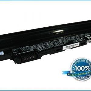 Acer Aspire One D255 D262 722 One Happy One Happy2 yhteensopiva akku - 4400 mAh Musta