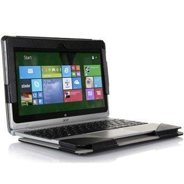 Acer Aspire Switch 10 Folio Nahkakotelo Musta