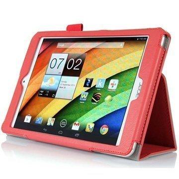 Acer Iconia A1-830 Folio Nahkakotelo Punainen