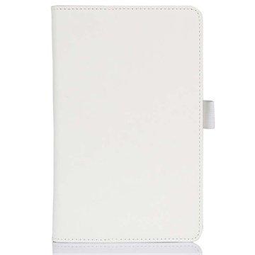 Acer Iconia B1-720 Folio Nahkakotelo Valkoinen