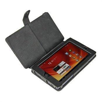 Acer Iconia Tab A100 iGadgitz Nahkakotelo Musta