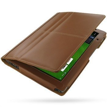 Acer Iconia Tab A500 PDair Leather Case 3TACTABX1 Ruskea