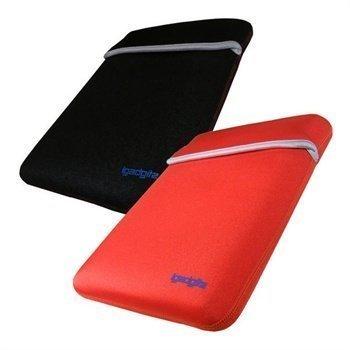 Acer Iconia Tab A500 Samsung Galaxy Tab P7500 iGadgitz Käännettävä Neopreenikotelo Punainen / Musta