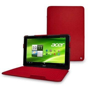 Acer Iconia Tab A700 Noreve Tradition Leather Case Red