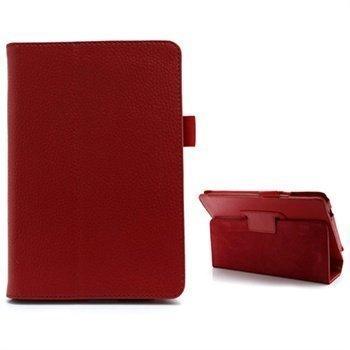 Acer Iconia Tab B1-A71 Folio Nahkakotelo Punainen