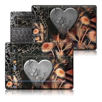 Acer Iconia Tab W500 Black Lace Flower Skin