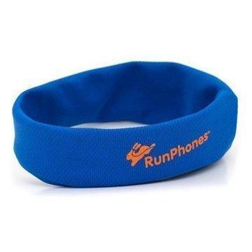 AcousticSheep RunPhones Headband Kuulokkeet Yksi Koko Sininen
