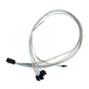 Adaptec Sisäinen Sas-kaapeli 36 Pin 4x Mini Sas Hd (sff-8643) 7 Nastan Serial Ata Harmaa 0.8m