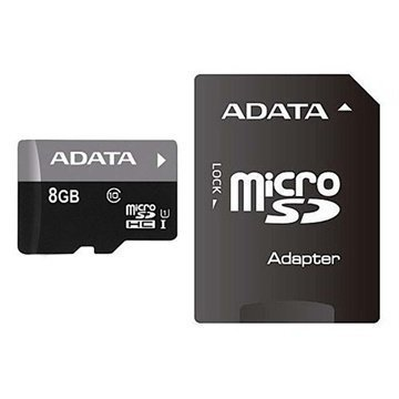 Adata AUSDH8GUICL10-RA1 Premier MicroSDHC Muistikortti 8Gt