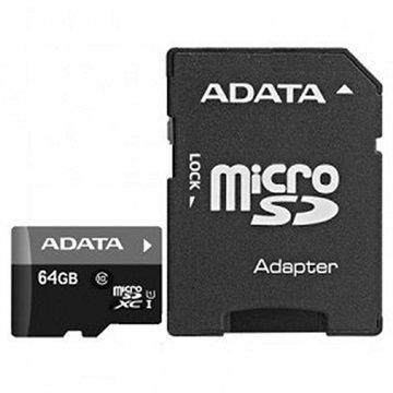 Adata AUSDX64GUICL10-RA1 Premier MicroSDXC Muistikortti 64Gt