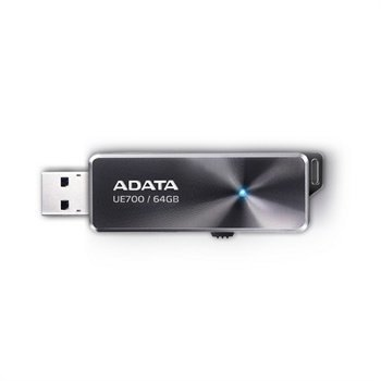 Adata DashDrive Elite UE700 USB 3.0 Flash 64GB Musta
