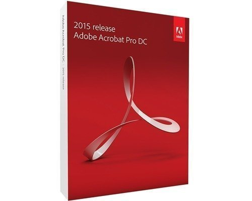 Adobe Acrobat Pro Dc 2015