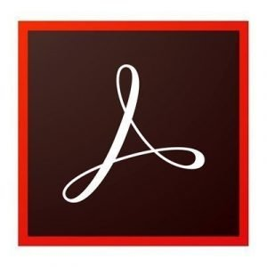 Adobe Acrobat Pro Dc 2015 Lisenssi Adobe International English Taso 1