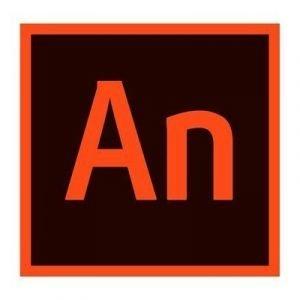 Adobe Animate/flash Pro Cc Mlp Mel 1y Subs /usr Cs5+ Promo Vip-c1 Tilauslisenssi Adobe Multi European Languages Taso 1