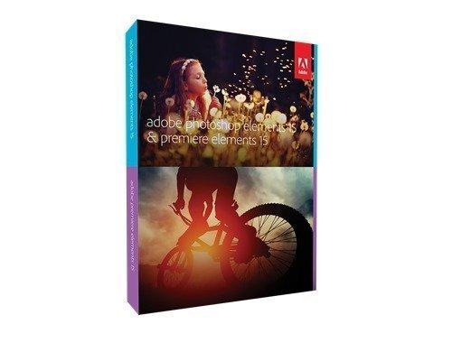 Adobe Photoshop Elements 15 & Premiere Elements 15 Win/mac Englanninkielinen Dvd