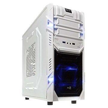 Aerocool GT EN52230 Mid Tower ATX PC Case Valkoinen