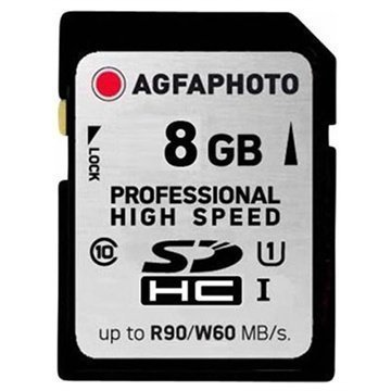 AgfaPhoto 10502 Professional High Speed SDHC Muistikortti 8Gt