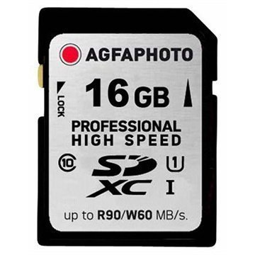 AgfaPhoto 10503 Professional High Speed SDHC Muistikortti 16Gt