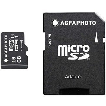 AgfaPhoto MicroSDHC Muistikortti 16Gt