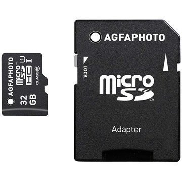 AgfaPhoto MicroSDHC Muistikortti 32Gt