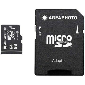 AgfaPhoto MicroSDXC Muistikortti 64Gt
