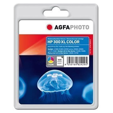 AgfaPhoto Mustepatruuna HP Deskjet Photosmart Envy Series 3 Väriä