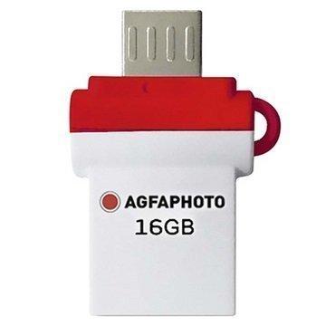 AgfaPhoto Poko Dual USB Stick 16GB