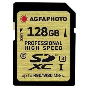 AgfaPhoto Professional High Speed SDXC Muistikortti 128Gt
