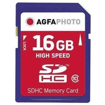 AgfaPhoto SDHC-Muistikortti 16 Gt