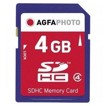 AgfaPhoto SDHC-Muistikortti 4 Gt