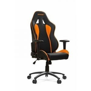 Ak Racing Nitro Pelituoli Musta/oranssi