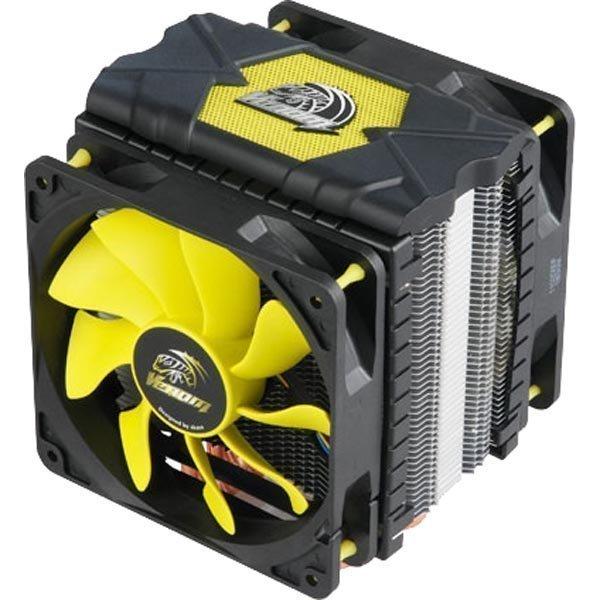 Akasa Venom Voodoo CPU-jäähdytin musta/keltainen