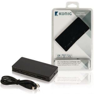 All-in-One-muistikortinlukija USB 2.0