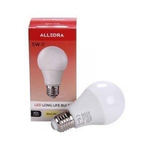 Alledra Led-lamppu E27 240v 5w Pallo 400lm Lämpimänvalkoinen