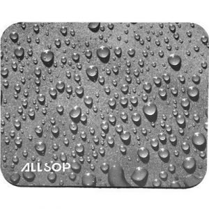 Allsop Mouse Pad Raindrops Black