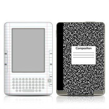 Amazon Kindle 2 Composition Notebook Skin