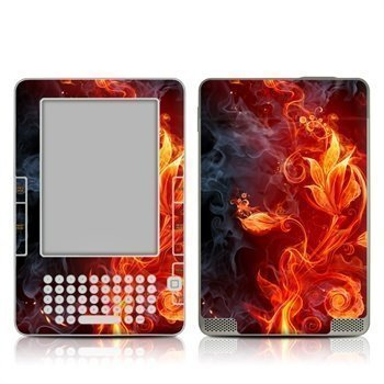 Amazon Kindle 2 Flower Of Fire Skin