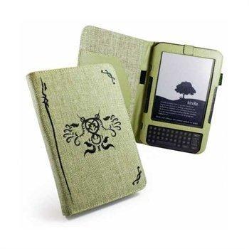 Amazon Kindle 3 Eco-nique Natural Hamppu Kotelo Pistaasi Vihreä
